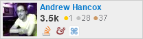 profile for Andrew Hancox on Stack Exchange, a network of free, community-driven Q&A sites