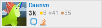 profile for Daanvn on Stack Exchange, a network of free, community-driven Q&A sites