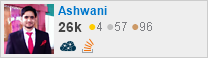 profile for Ashwin on Stack Exchange, a network of free, community-driven Q&A sites