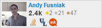 profile for andyfusniak on Stack Exchange, a network of free, community-driven Q&A sites