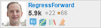 profile for RegressForward on Stack Exchange, a network of free, community-driven Q&A sites