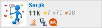 profile for Serjik Isagholian on Stack Exchange, a network of free, community-driven Q&A sites