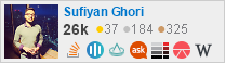 profile for sufiyan on Stack Exchange, a network of free, community-driven Q&A sites
