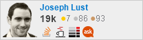 profile for Joseph Lust at Stack Overflow, Q&A for professional and enthusiast programmers