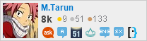 profile for M.Tarun on Stack Exchange, a network of free, community-driven Q&A sites