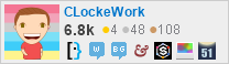 profile for CLockeWork on Stack Exchange, a network of free, community-driven Q&A sites