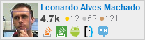 profile for Leonardo Alves Machado on Stack Exchange, a network of free, community-driven Q&A sites