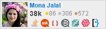 profile for Mona Jalal on Stack Exchange, a network of free, community-driven Q&A sites