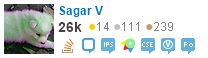 profile for Sagar V on Stack Exchange, a network of free, community-driven Q&A sites