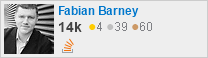profile for Fabian Barney on Stack Exchange, a network of free, community-driven Q&A sites