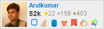 profile for Arulkumar on Stack Exchange