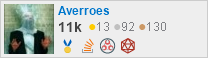 profile for Averroes on Stack Exchange, a network of free, community-driven Q&A sites