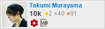 profile for Takumi Murayama on Stack Exchange, a network of free, community-driven Q&A sites