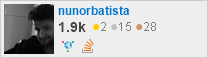profile for nunorbatista on Stack Exchange, a network of free, community-driven Q&A sites