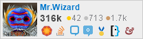 profile for Mr.Wizard on Stack Exchange, a network of free, community-driven Q&A sites