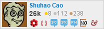 profile for Shuhao Cao on Stack Exchange, a network of free, community-driven Q&A sites