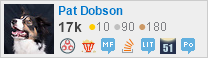 profile for Pat Dobson on Stack Exchange, a network of free, community-driven Q&A sites