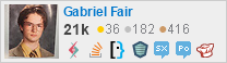 profile for Gabriel Fair on Stack Exchange, a network of free, community-driven Q&A sites