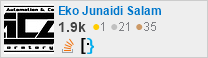 profile for Eko Junaidi Salam on Stack Exchange, a network of free, community-driven Q&A sites