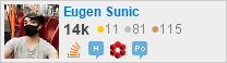 profile for eugen_sunic on Stack Exchange, a network of free, community-driven Q&A sites