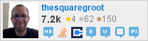 profile for thesquaregroot on Stack Exchange, a network of free, community-driven Q&A sites