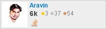 profile for Aravin on Stack Exchange, a network of free, community-driven Q&A sites