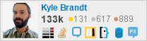 profile for Kyle Brandt on Stack Exchange, a network of free, community-driven Q&A sites