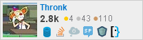 profile for Thronk on Stack Exchange, a network of free, community-driven Q&A sites
