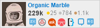 profile for Organic Marble on Stack Exchange, a network of free, community-driven Q&A sites