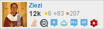 profile for Ziezi on Stack Exchange, a network of free, community-driven Q&A sites