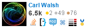 profile for Carl Walsh on Stack Exchange, a network of free, community-driven Q&A sites