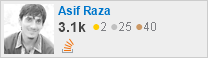 profile for Rao Asif Raza on Stack Exchange, a network of free, community-driven Q&A sites