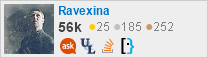 profile for Ravexina on Stack Exchange, a network of free, community-driven Q&A sites