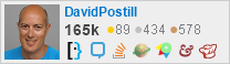 profile for DavidPostill on Stack Exchange, a network of free, community-driven Q&A sites