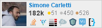 profile for Simone Carletti on Stack Exchange