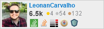 profile for LeonanCarvalho on Stack Exchange, a network of free, community-driven Q&A sites