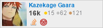 profile for Kazekage Gaara on Stack Exchange, a network of free, community-driven Q&A sites