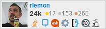 profile for rlemon on Stack Exchange, a network of free, community-driven Q&A sites