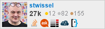 profile for stwissel on Stack Exchange, a network of free, community-driven Q&A sites