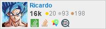 perfil de Ricardo no Stack Exchange, uma rede gratuita de sites de perguntas e respostas orientadas à comunidade