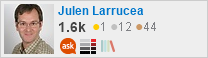 profile for Julen Larrucea on Stack Exchange, a network of free, community-driven Q&A sites