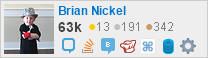 Network flair for Brian Nickel