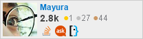 profile for Mayura on Stack Exchange, a network of free, community-driven Q&A sites