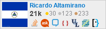profile for Ricardo Altamirano on Stack Exchange, a network of free, community-driven Q&A sites
