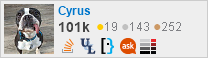 profile for Cyrus on Stack Exchange, a network of free, community-driven Q&A sites