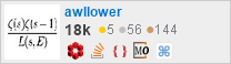 profile for awllower on Stack Exchange, a network of free, community-driven Q&A sites