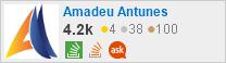 perfil de Amadeu Antunes em Stack Overflow em Português, Perguntas e respostas para programadores profissionais e entusiastas