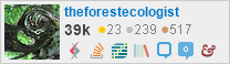 profile for theforestecologist on Stack Exchange, a network of free, community-driven Q&A sites