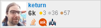 profile for keturn on Stack Exchange, a network of free, community-driven Q&A sites