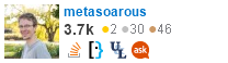 profile for metasoarous on Stack Exchange, a network of free, community-driven Q&A sites